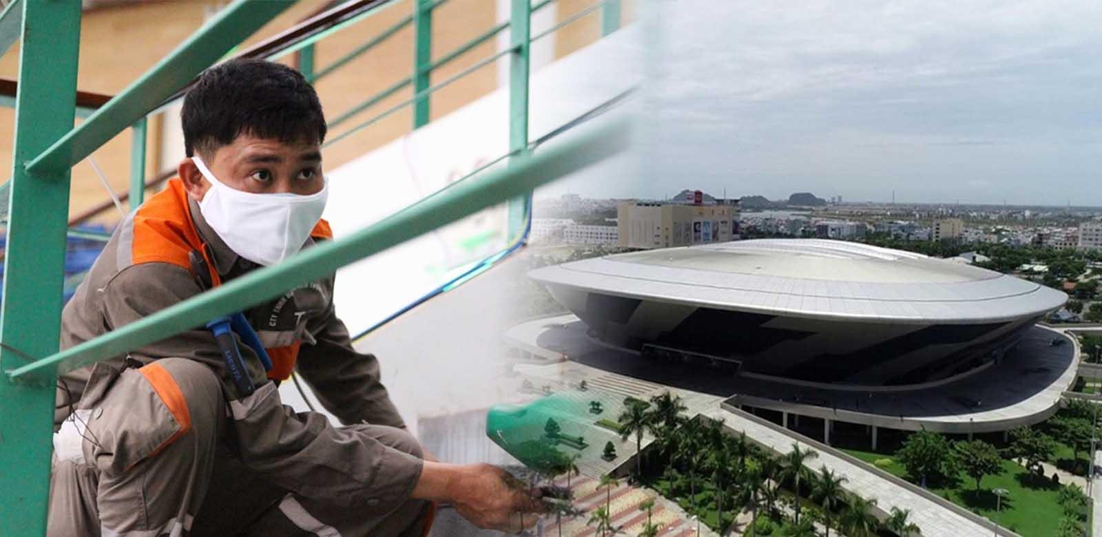 FPT 'thần tốc' phủ sóng Internet Bệnh viện dã chiến Đà Nẵng