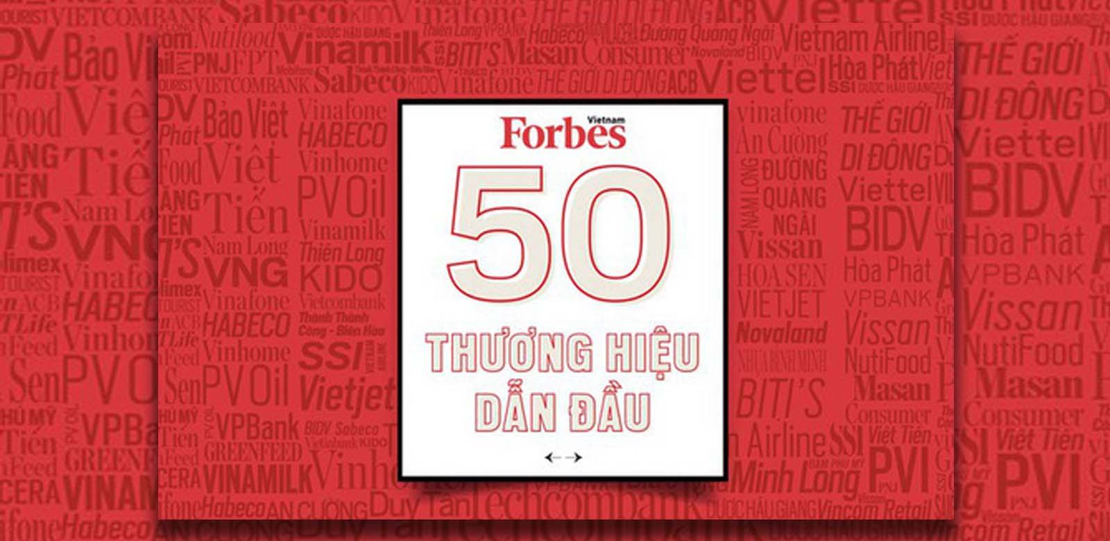 FPT NẰM TRONG TOP 50 THƯƠNG HIỆU DẪN ĐẦU 2020